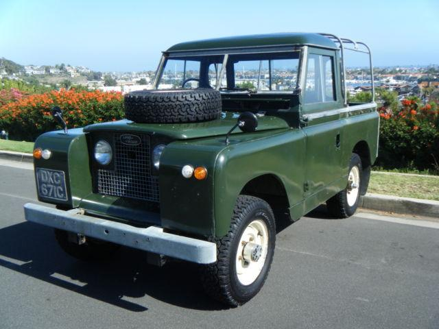 1965 land rover series 2a for sale in costa mesa california classified. Black Bedroom Furniture Sets. Home Design Ideas