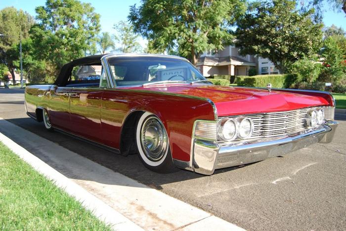 1965 lincoln continental convertible red for sale in. Black Bedroom Furniture Sets. Home Design Ideas