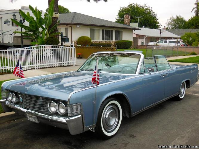 1965 Lincoln Continentle Convertible