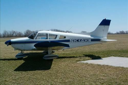 1965 Piper Cherokee 180C Single Engine Airplane
