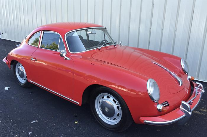 1965 Porsche 356 C Coupe MATCHING NUMBERS