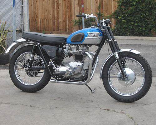 1965 Triumph T120C Competition Bonneville TT Racer