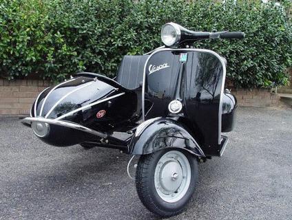 1965 Vespa sidecar
