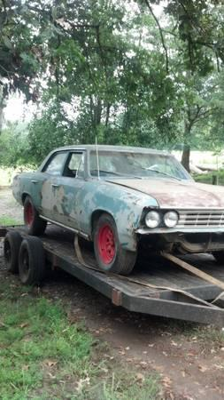 1966,1967 chevelle parts cars for Sale in Nicholson ...
