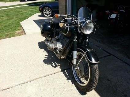 1966 BMW R69s Conversion 1973 R75/5 engine and