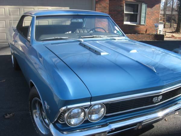 1966 Chevelle Super Sport 396 - for Sale in Hartford ...