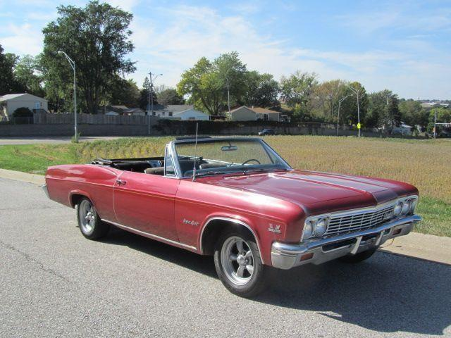 1966 chevrole impala ss convertible for sale in co bluffs iowa classified americanlisted com