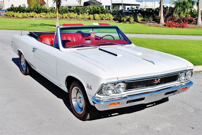 1966 Chevrolet Chevelle Convertible SS