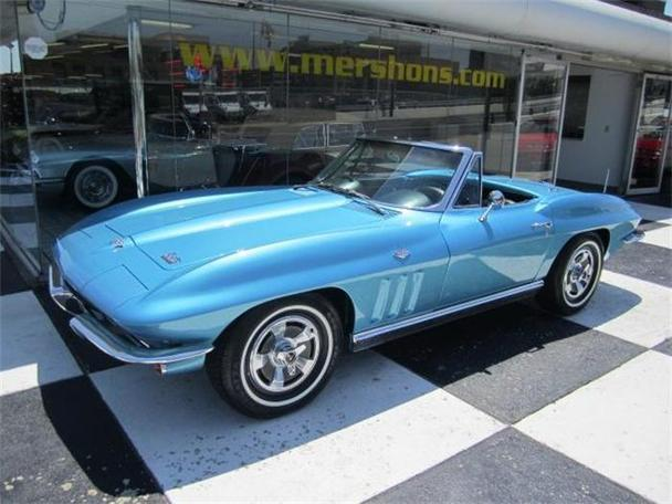 1966 chevrolet corvette for sale in springfield ohio classified. Black Bedroom Furniture Sets. Home Design Ideas