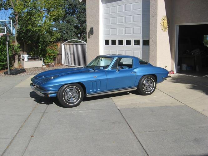 1966 Chevrolet Corvette coupe original matching numbers