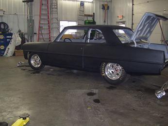 1966 Chevrolet II Nova Project Car For Sale!!