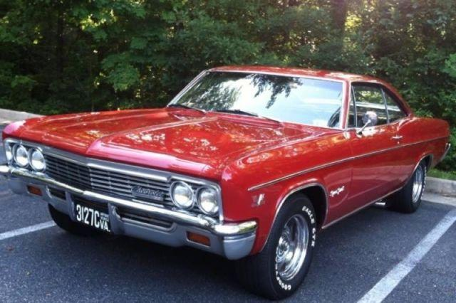 1966 chevrolet impala ss 427 for sale virginia for sale in alexandria virginia classified. Black Bedroom Furniture Sets. Home Design Ideas