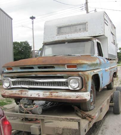1966 Chevy 3 4 Ton Truck For Parts Sale In Stanhope Iowa