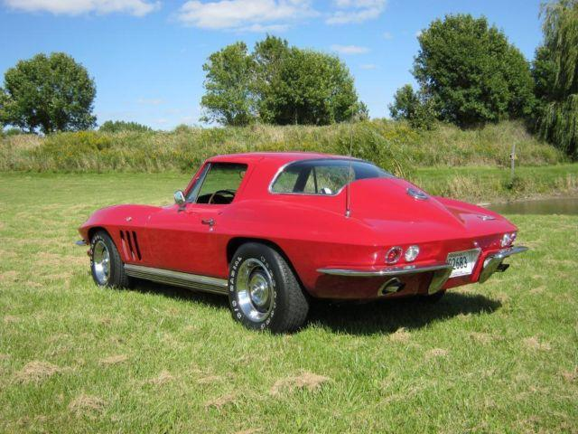 1966 corvette stingray coupe red 350 4 speed ac for sale in prior lake minnesota. Black Bedroom Furniture Sets. Home Design Ideas