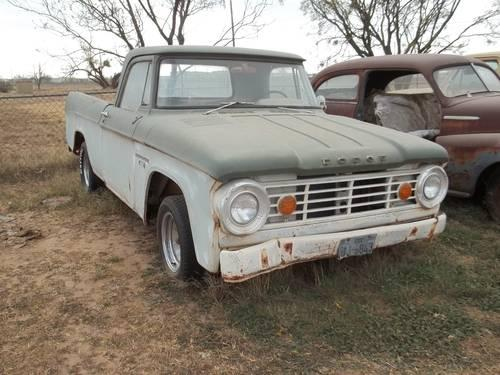 1966 dodge pickup for Sale in Clairemont, Texas Classified