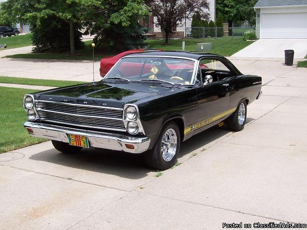 1966 Ford Fairlane For Sale In South Lyon Michigan