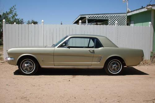1966 ford mustang 100 miles on rebuilt engine 6cyl 200 auto straight for sale in phelan. Black Bedroom Furniture Sets. Home Design Ideas