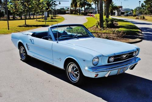 1966 ford mustang convertible for sale in lakeland florida classified. Black Bedroom Furniture Sets. Home Design Ideas