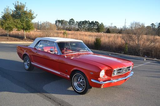 1966 Ford Mustang Convertible GT Convertible Red