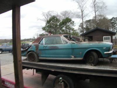 1966 Ford Mustang For Restoration 289 2V Engine Potential - $1500