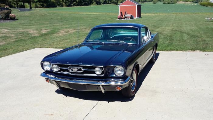 1966 Ford Mustang GT Fastback V8 4bbl