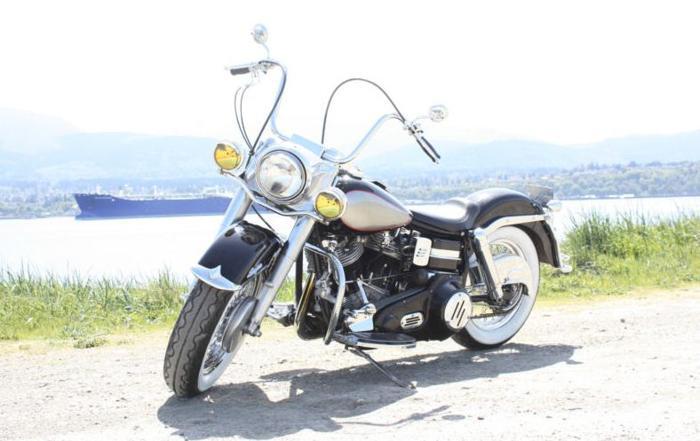 1966 Harley Davidson Electra Glide FLH Shovelhead Motorcycle