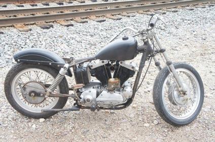 1966 Harley Davidson XLR SPORTSTER XLRTT Delivery