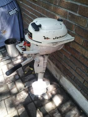 1966 johnson jh21e 3hp boat motor mint for sale in grand