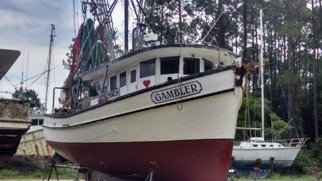 1966 Landry Shrimp Boat For Sale in Apalachicola, Florida