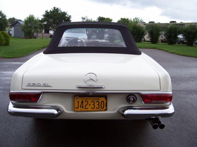 1966 mercedes 230sl 1966 mercedes benz 230sl sl class for Mercedes benz rental pittsburgh