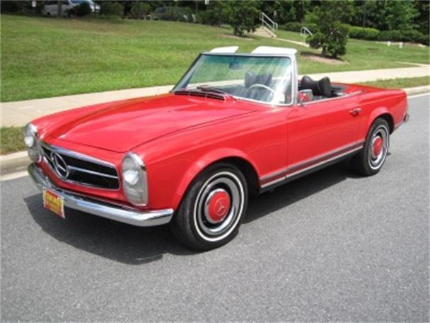 1966 Mercedes Benz 230sl Roadster For Sale In Rockville