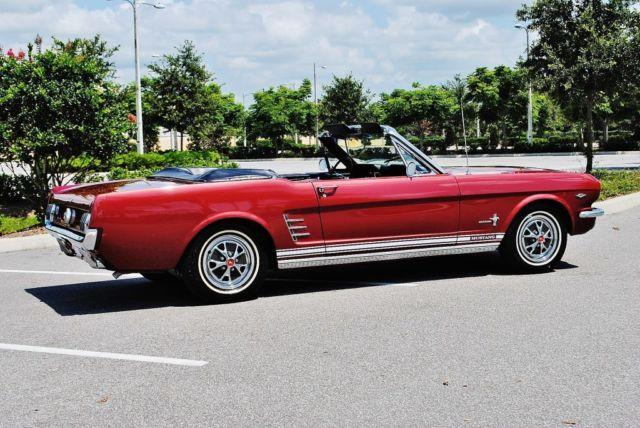 1966 mustang convertible for sale in lakeland florida classified. Black Bedroom Furniture Sets. Home Design Ideas