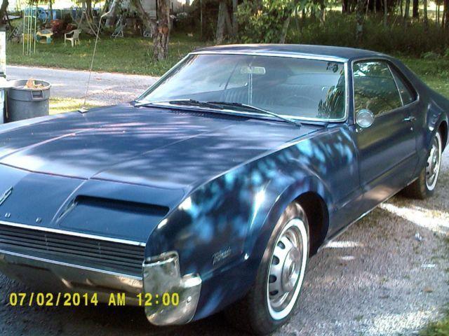1966 oldsmobile toronado auto all original but paint blue for sale in campbellsville kentucky. Black Bedroom Furniture Sets. Home Design Ideas