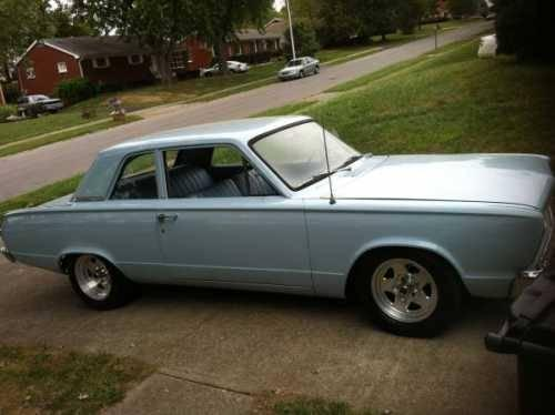 1966 plymouth valiant american classic in lexington ky for sale in lexington kentucky. Black Bedroom Furniture Sets. Home Design Ideas