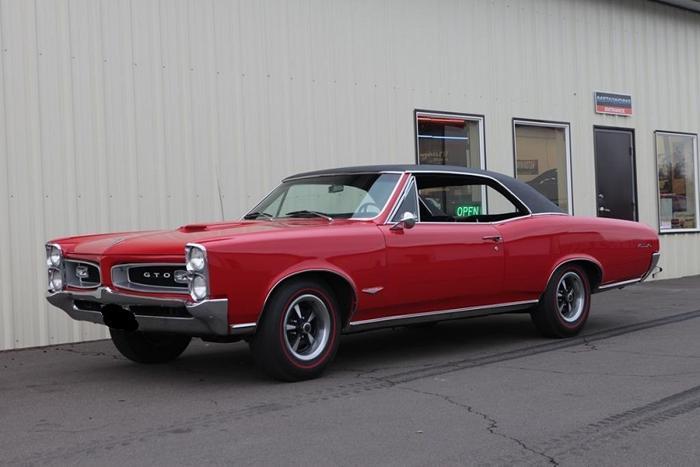 1966 Pontiac Gto Red For Sale In Hammond Louisiana