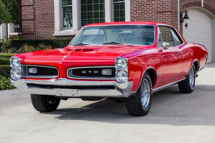 1966 pontiac gto red for sale in summerville  south