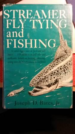 1966 Streamer Fly Tying And Fishing Book 1st Edition -