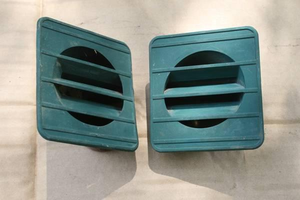 1967 - 1972 CHEVY TRUCK DEFROSTER VENTS - $25