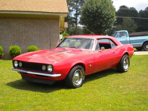 1967 camaro for sale in nashville arkansas classified. Black Bedroom Furniture Sets. Home Design Ideas