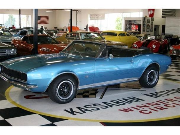 1967 Chevrolet Camaro Rs For Sale In Dublin California