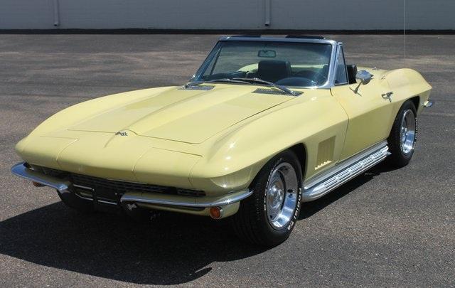 1967 Chevrolet Corvette Yellow For Sale In Fort Washington