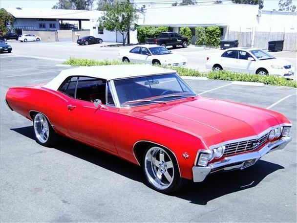 1967 Chevrolet Impala Ss For Sale In Escondido California