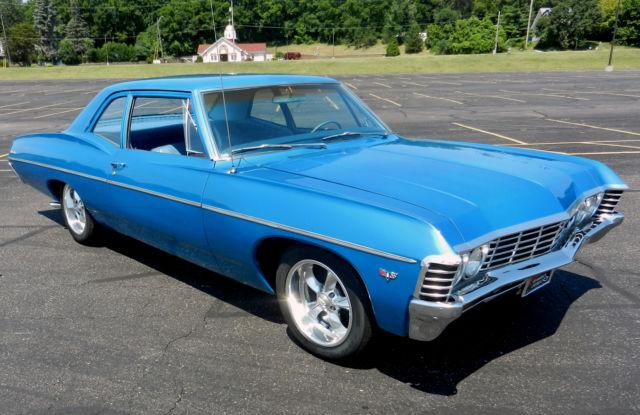1967 Chevy Chevrolet Belair Bel Air Impala Post Car V8 Solid ...