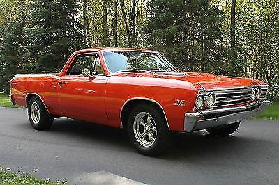 1967 Chevy El Camino Frame Off Restoration Big Block For Sale In Sun Prairie Wisconsin