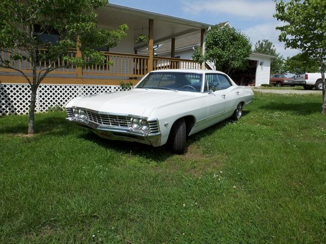 1967 chevy impala 327 engine 4 door hardtop supernatural car factory air for sale in quebeck. Black Bedroom Furniture Sets. Home Design Ideas
