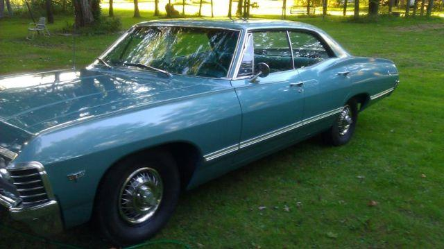 1967 chevy impala 4 door hardtop no post pillar car low miles for sale in nashville. Black Bedroom Furniture Sets. Home Design Ideas
