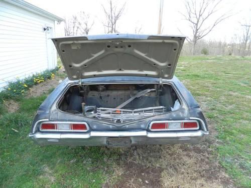 Impala 4 door Hardtop Supernatural 67 Chevrolet 4dr Black for Sale