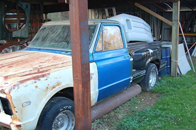 1967 chevy short bed factory ac project truck plus extras americanlisted_34588343 chevy painless wiring harness www toyskids co \u2022