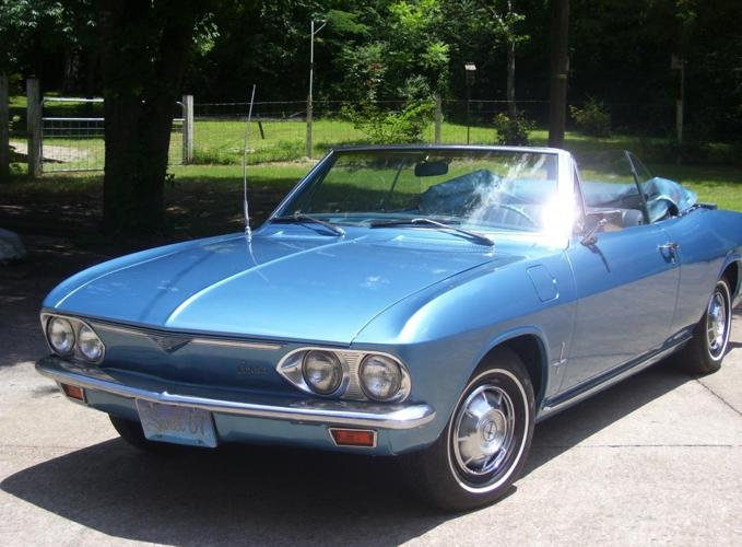 1967 Corvair Monza Convertible For Sale In Hermitage