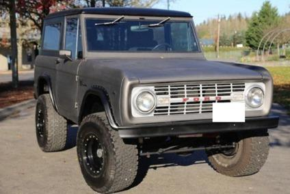 1967 Ford Bronco Anodized Carbon Bronco